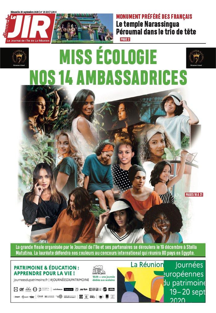 Le Journal De L Ile De La Reunion : journal, reunion, Journal, L'île, Réunion, N°23223, Septembre, Télécharger