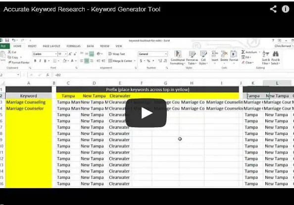 Search Engine Keyword Generator Tool.  Free Download Now!