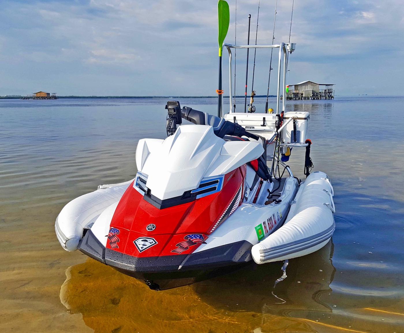 hight resolution of clip on pwc jet ski stabilizer sponsons durney key florida