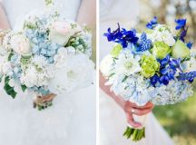 9 Ways to Incorporate Your Something Blue in Your Wedding