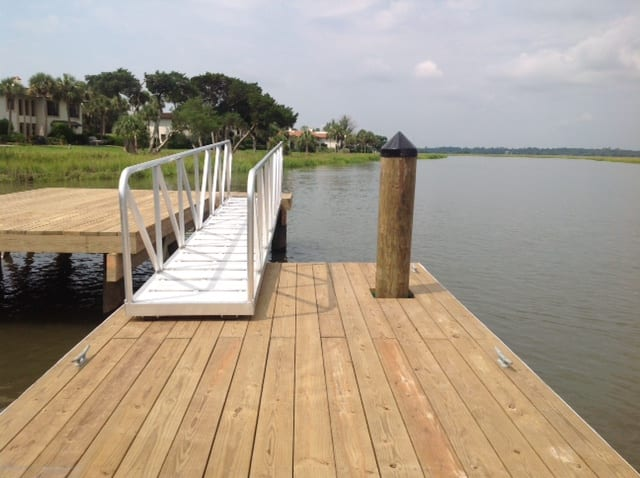 Sea Island Floating Dock