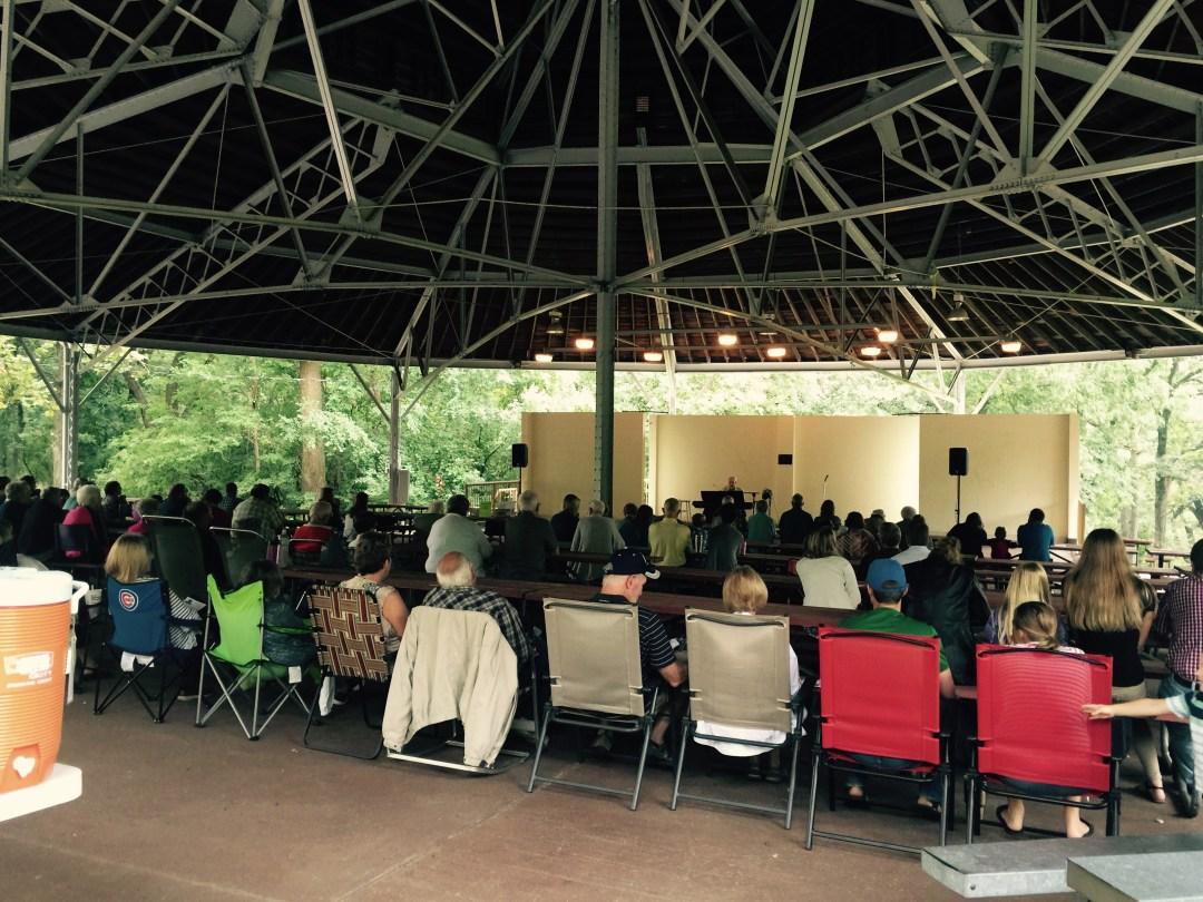 Herman Park Outdoor Concert in Boone, Iowa