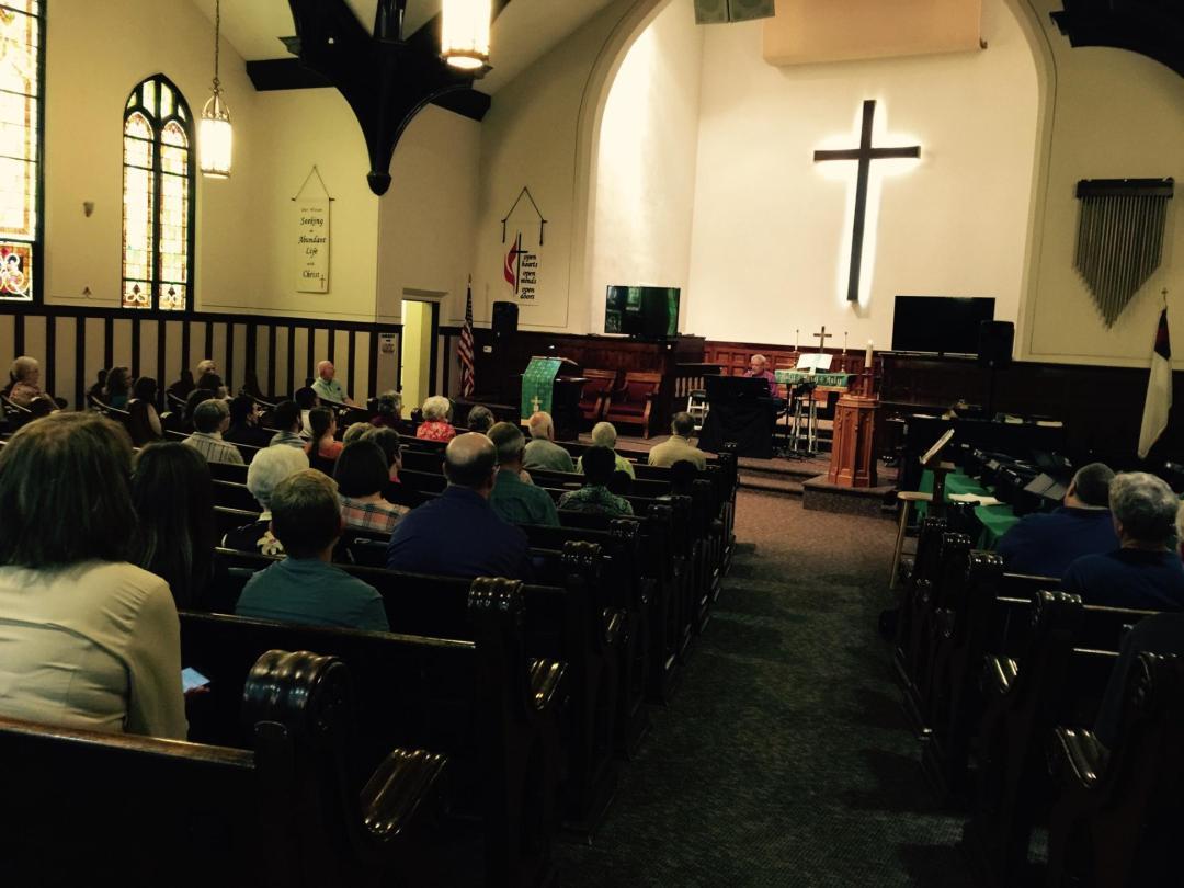 Anamosa United Methodist Church in Anamosa, Iowa