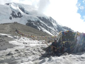 Thorang La Pass (5415m). This was my 11th 5000+m pass/base camp of the trail. I only had another three to do.