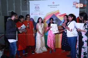 Red FM Clint Memorial Painting Competition conducted at Mall of Travancore in association with The Oxford School Trivandrum. (2)