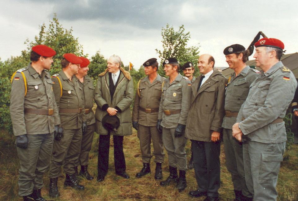 1984 die KpFw und d. Bunderpräsident