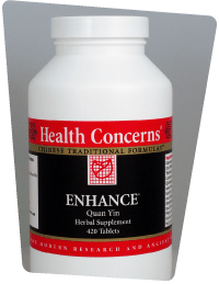 Health Concerns Bottle - Enhance