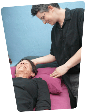 Happy Acupuncture Patient