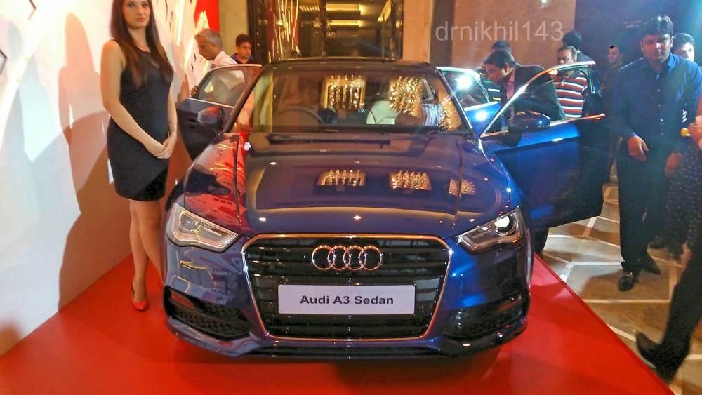 Audi A3 Sedan India launch event (1/6)