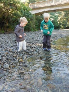 River adventure at Kaikoke Regional Park.