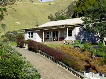 Fletcher Bay backpacker's lodge.