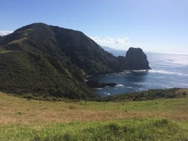 Looking back towards The Pinnacles and Sugarloaf.