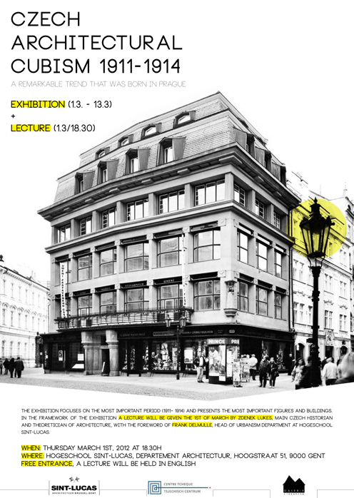 Exhibition-lecture: 'Czech Architectural Cubism 1911-1914