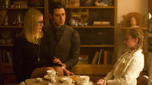 If there wasn't a dead little girl here, this is a sweet example of that brother-sister vibe developing between Eliot and Alice.