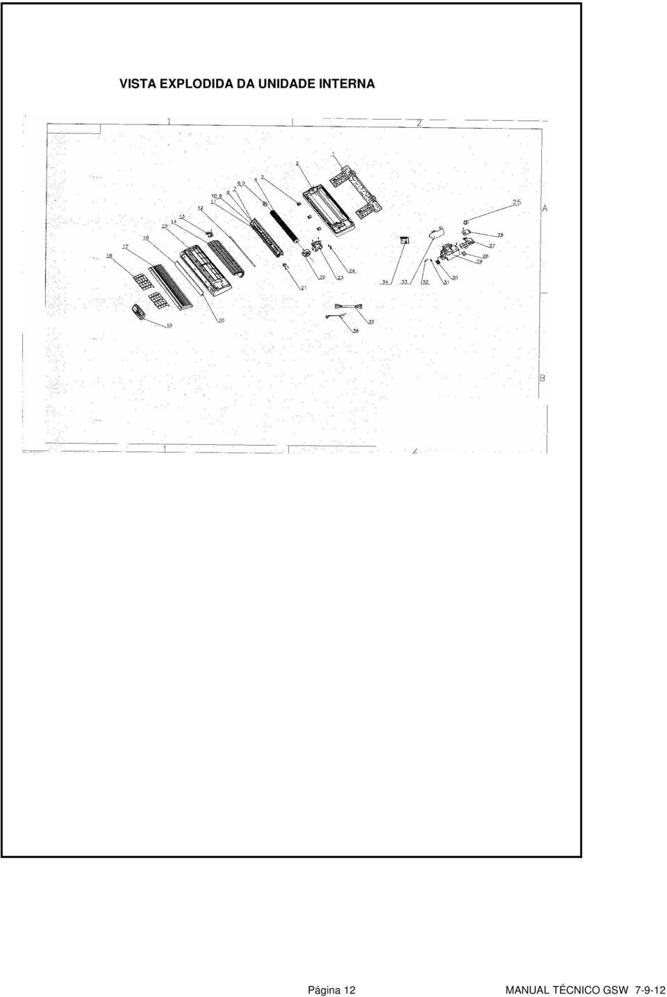 LINHA SPLIT WALL MANUAL TÉCNICO GSW 7 22 GSW 9 22 (C) GSW