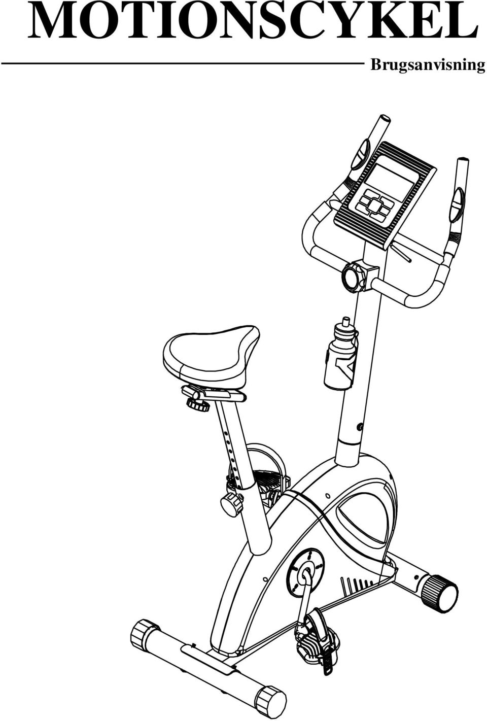 Maxfit motionscykel brugsanvisning