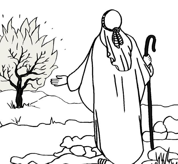 Dios llama a Moisés AVENTURAS DE FE CON MOISÉS Y JOSUÉ