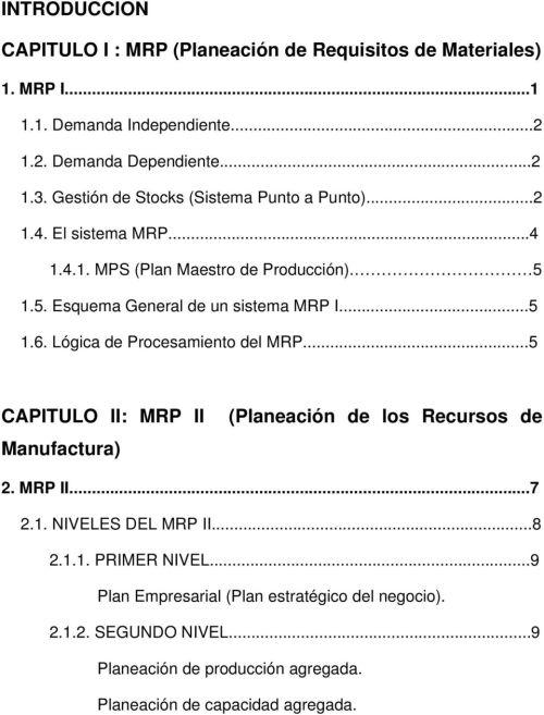 small resolution of l gica de procesamiento del mrp 5 capitulo ii