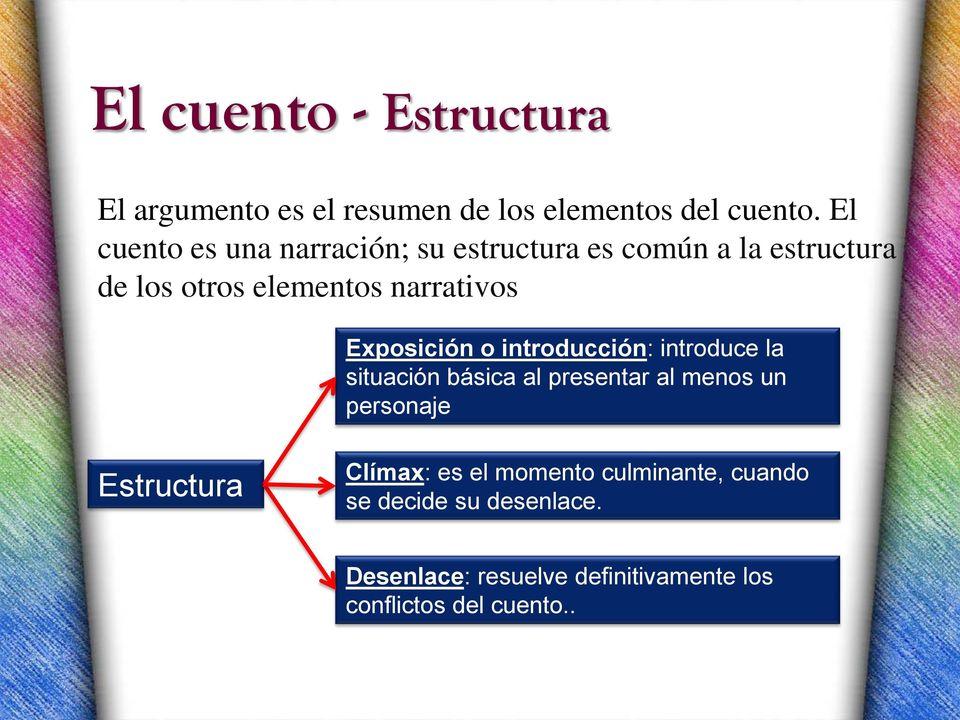 El Cuento y la novela Definicin historia caractersticas