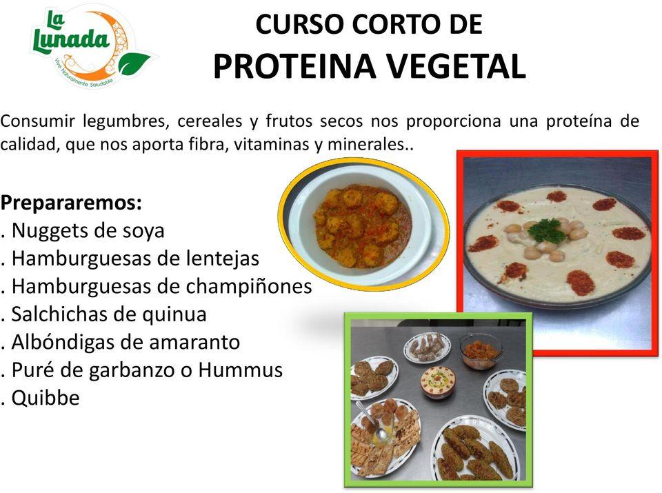 TIENDA VEGETARIANA CURSOS DE COCINA SALUDABLE  PDF