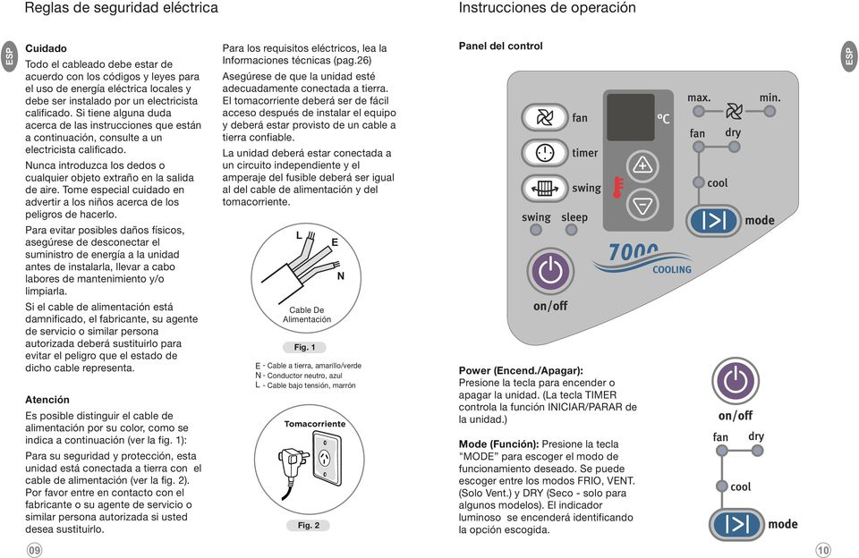 MANUAL DE INSTRUCCIONES/ INSTRUCTIONS MANUAL AIRE
