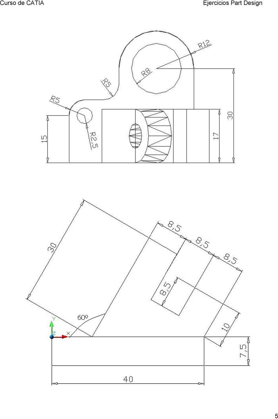 Ejercicios de Autocad 2D y 3D Conceptos Bsicos t