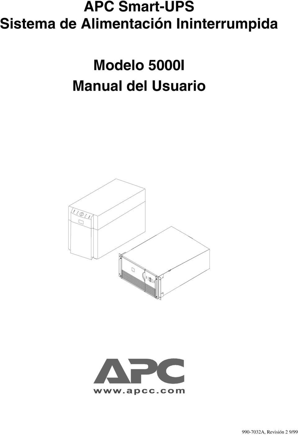 APC Smart-UPS Sistema de Alimentación Ininterrumpida