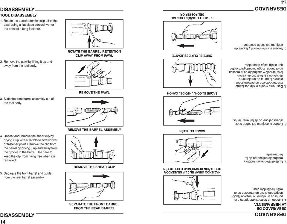 COBRA Operator's Instruction & Training Manual COBRA