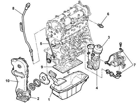Motor 1.3 Multijet. 90cv Fiat Punto. Fiat PUNTO 1.3