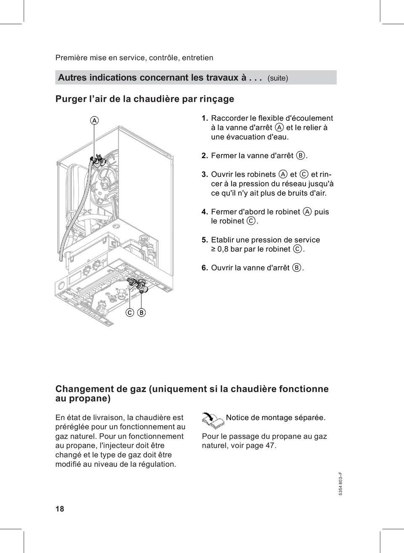 VIESMANN Notice de montage et de maintenance VITODENS 100W  PDF