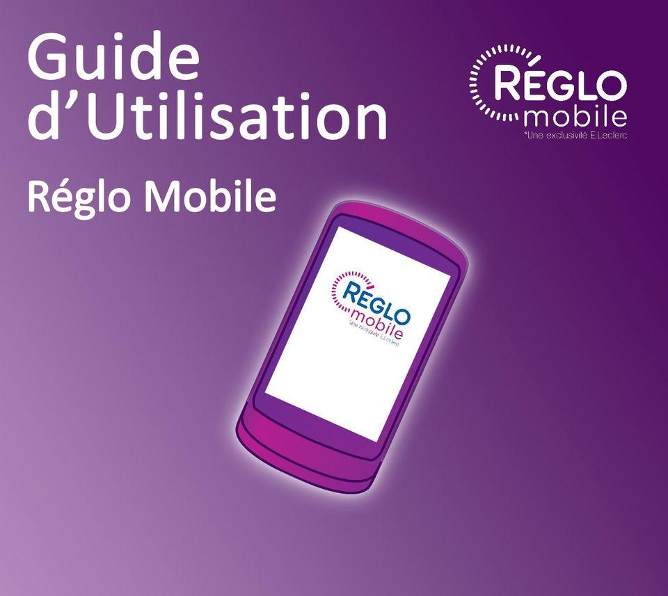 guide d utilisation reglo mobile pdf
