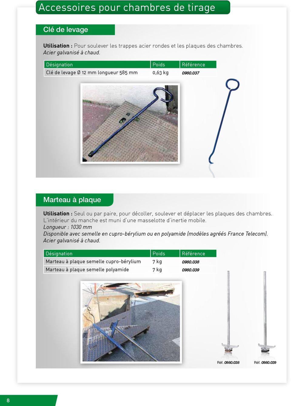 CHAMBRES DE TIRAGE ET ACCESSOIRES  PDF