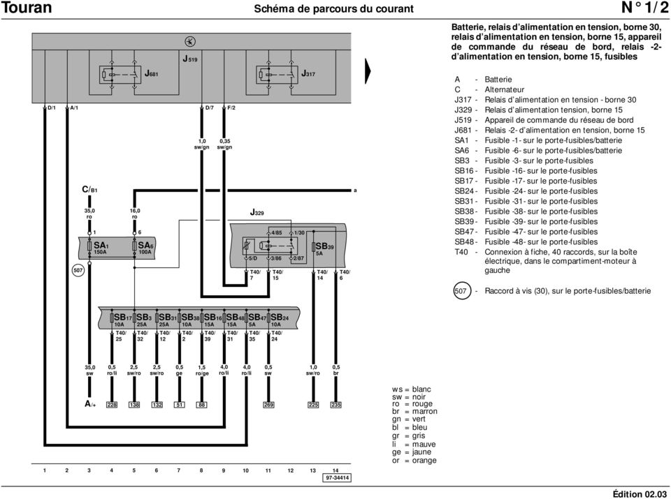 volkswagen schema moteur electrique pdf