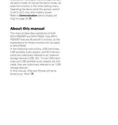 refer to demonstration demo display setting on page 32 about this manual this [ 960 x 1379 Pixel ]