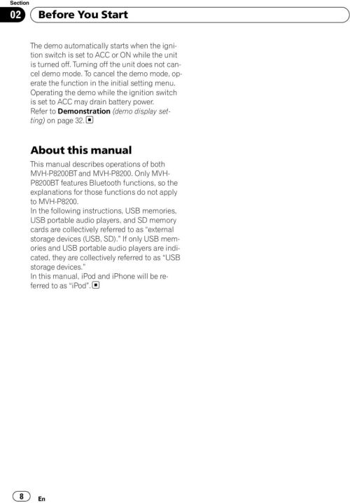 small resolution of refer to demonstration demo display setting on page 32 about this manual this