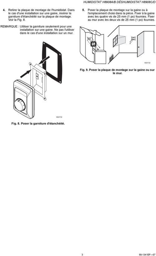 small resolution of poser la plaque de montage sur la gaine ou l emplacement choisi dans la