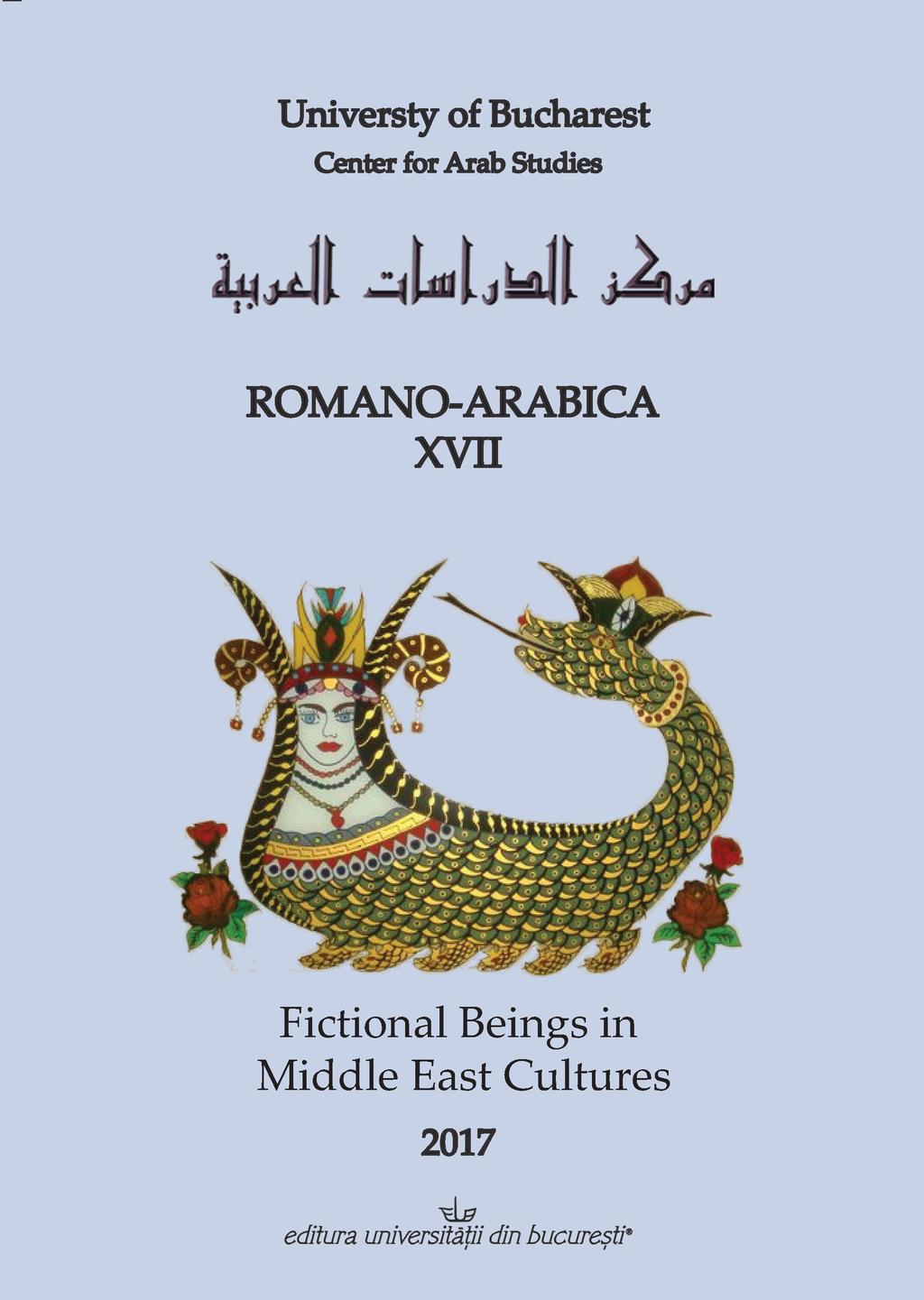 Chambre Obscure Def Romano Arabica Xvii Fictional Beings In Middle East Cultures Pdf