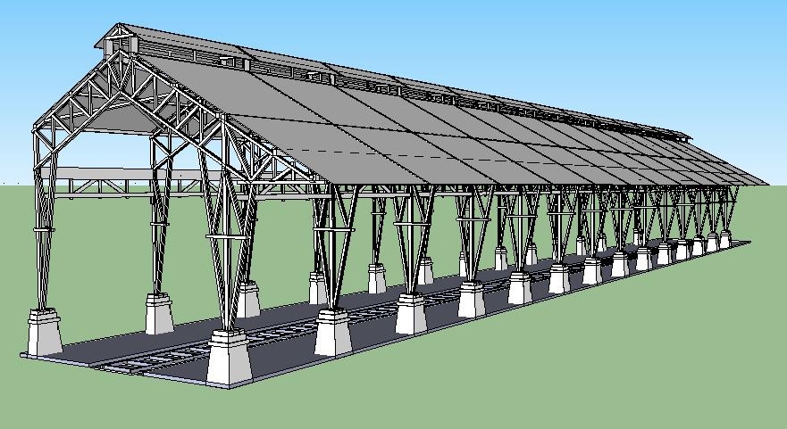 pondasi dengan baja ringan struktur dan konstruksi bangunan stasiun ka kota lama