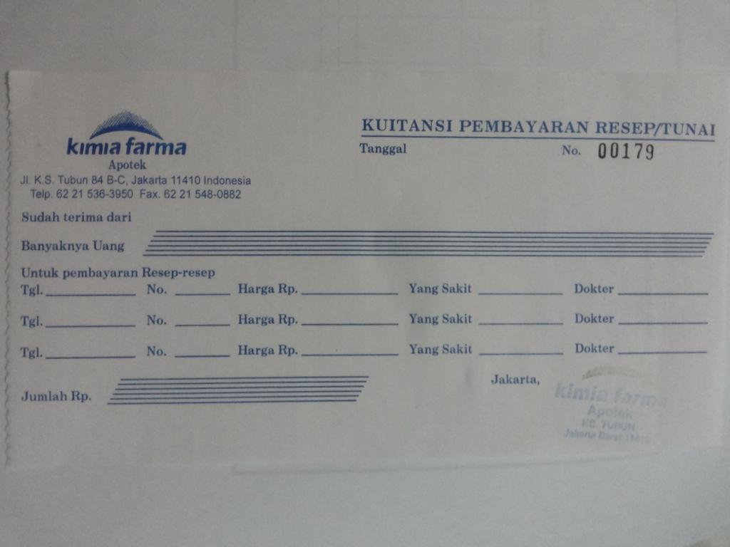 Surat Keterangan Sehat Klinik Kimia Farma Resepmenuhargacom