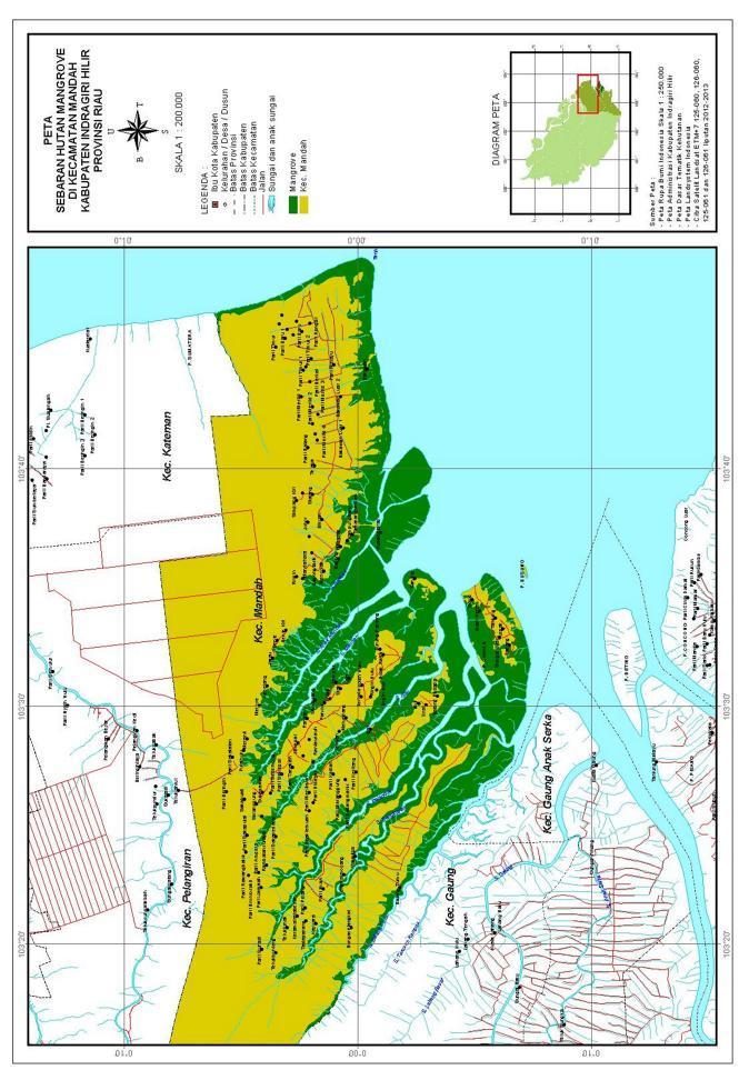 Peta Persebaran Hutan Mangrove Di Indonesia : persebaran, hutan, mangrove, indonesia, ESTIMASI, POTENSI, CADANGAN, KARBON, HUTAN, MANGROVE, Download, Gratis