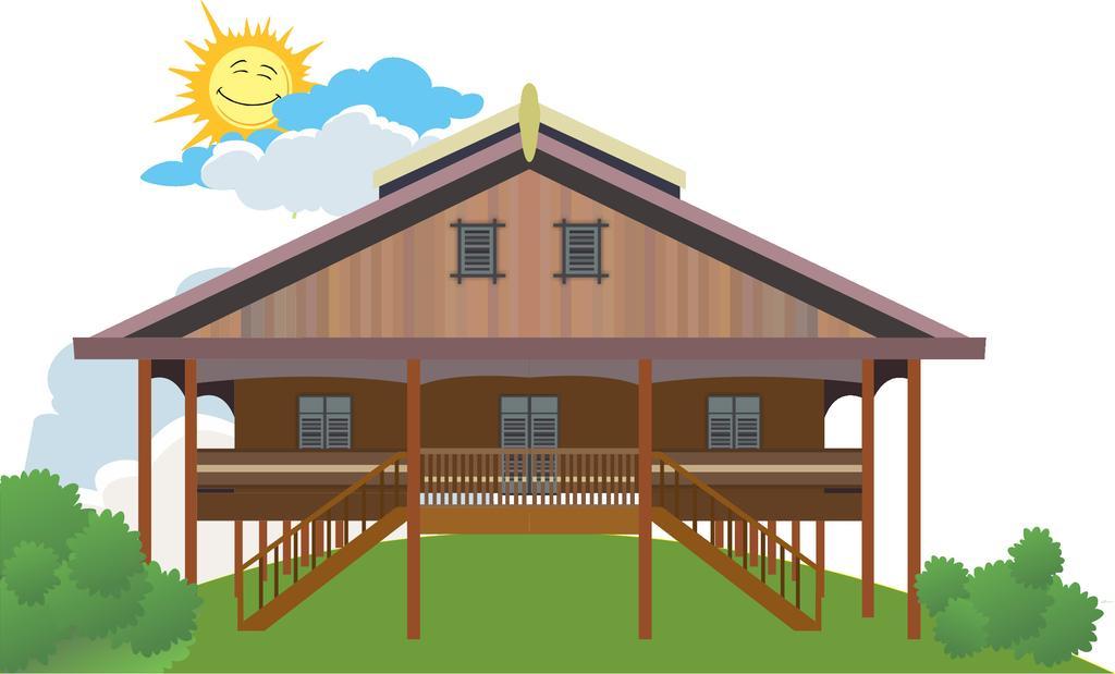 Rumah Joglo Kartun Png Rumah Joglo Limasan Work