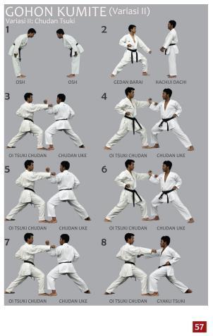 Nama Nama Jurus Karate Sabuk Putih : jurus, karate, sabuk, putih, PENGEMBANGAN, PANDUAN, TEKNIK, DASAR, (KIHON,, KATA,, KUMITE), UNTUK, PERGURUAN, KARATE, GOKASI, Download, Gratis