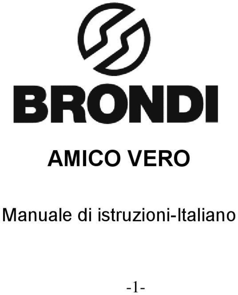 AMICO VERO. Manuale di istruzioni-italiano PDF
