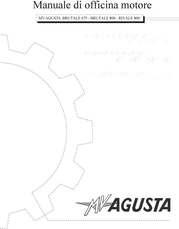 Motorcycle Art MV AGUSTA BRUTALE BRUTALE RIVALE 800