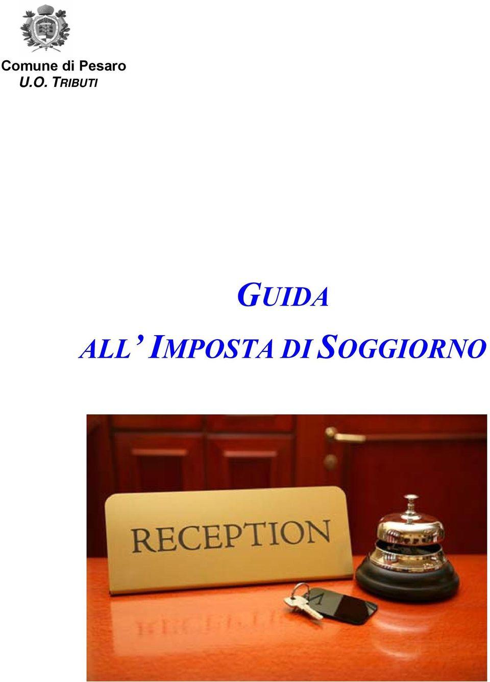 GUIDA ALL IMPOSTA DI SOGGIORNO  PDF