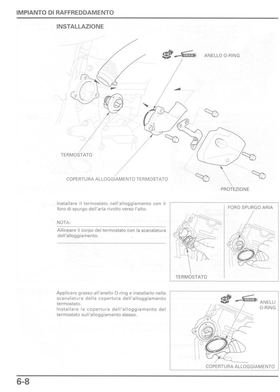 Schema Circuito Raffreddamento Motore Fuoribordo