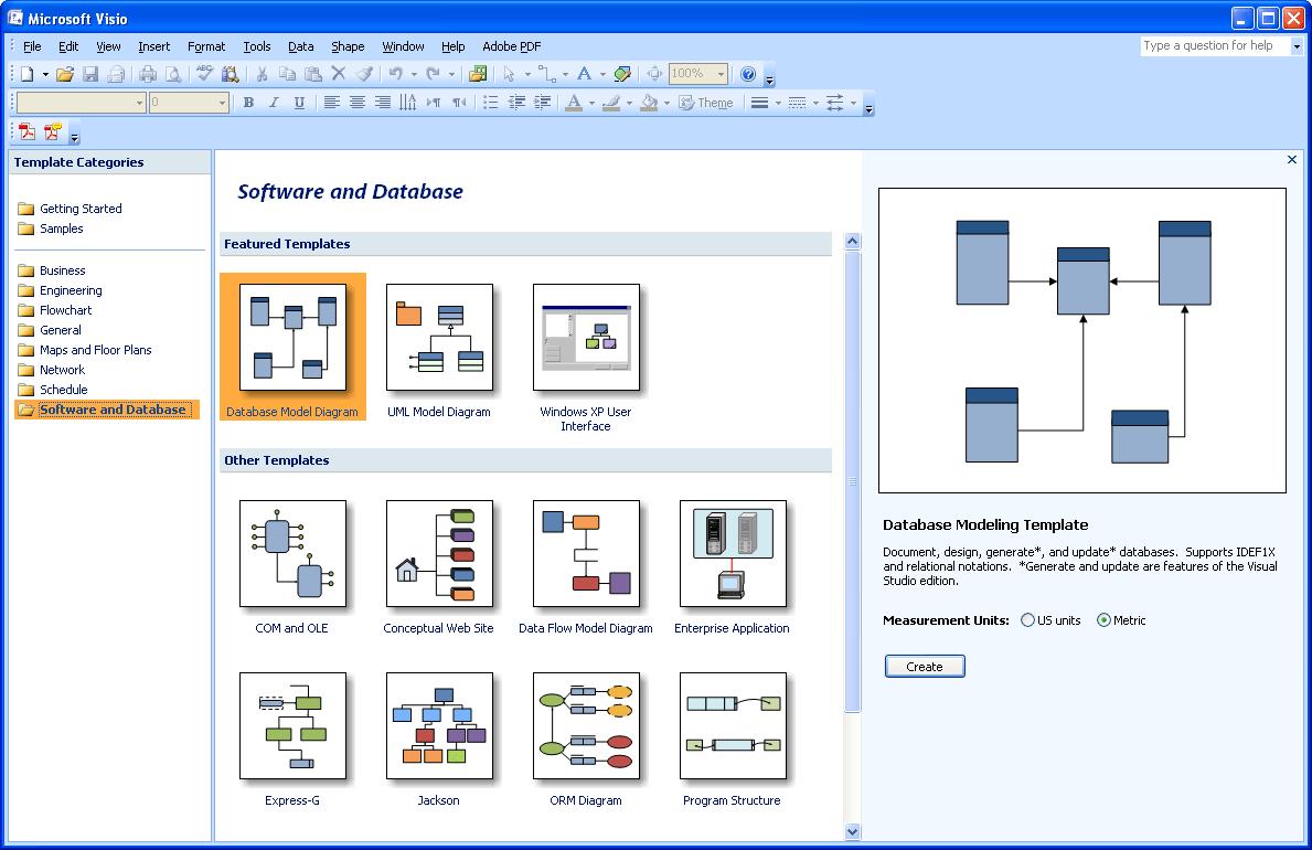 microsoft visio database model diagram elk anatomy communication in labview pdf