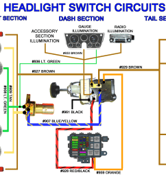 universal headlight switch wiring diagram 6 0 ford 3 way switch diagram 5 way [ 1298 x 1003 Pixel ]