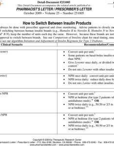 If switching between human insulin brands   humulin  to novolin also how switch products pdf rh docplayer