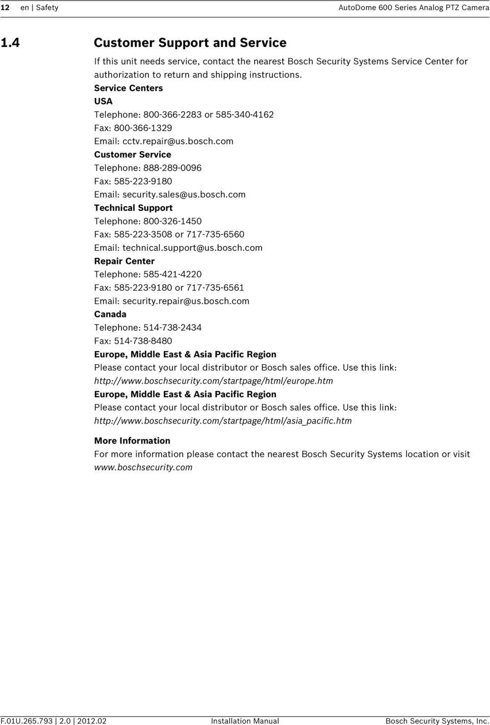 medium resolution of service centers usa telephone 800 366 2283 or 585 340 4162